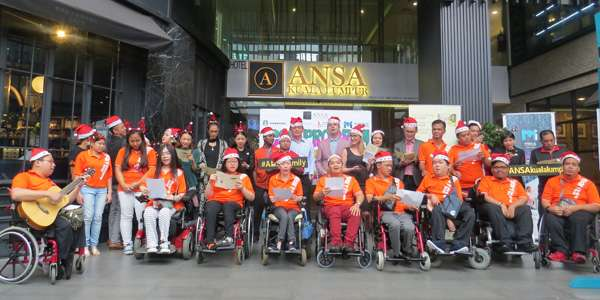 ANSA KL gives back