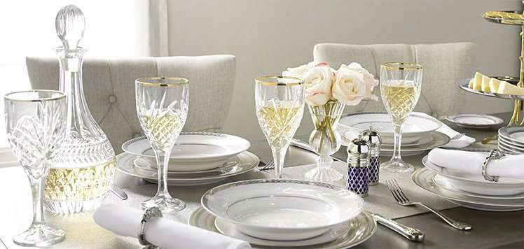 Wedgwood, Waterford & More Deluxe Tableware