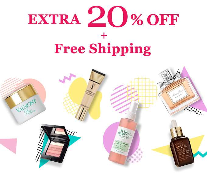 EXTRA 20% OFF + FREE SHIPPING! 5 days only!