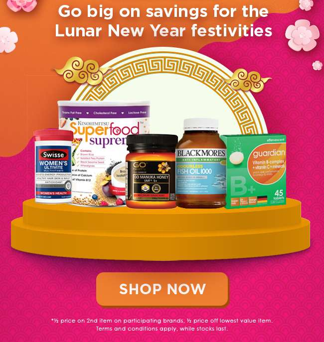 Go big on savings for the Lunar New Year festivities