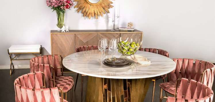 Modern Glam Furniture With Statements by J