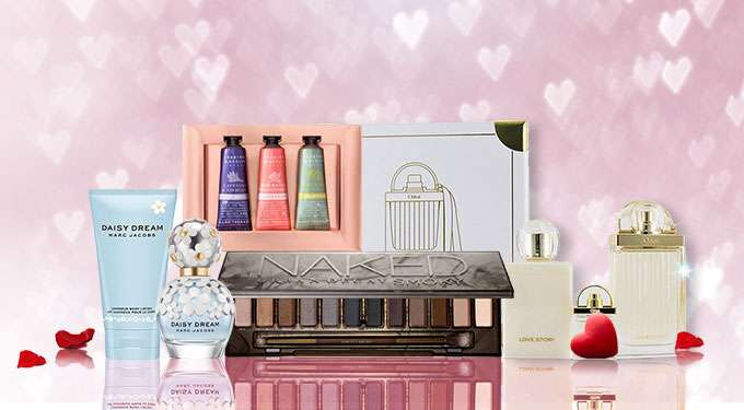 Valentine's Gift Set Sale Up to 75% Off! Urban Decay, Hermes, Elie Saab & more! Ends 14 Feb 2019