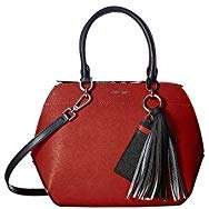 Calvin Klein: Susan Saffiano Leather Satchel