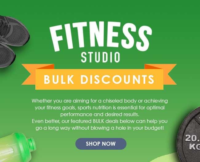 Shop Now for Fitness Studio Bulk Discounts