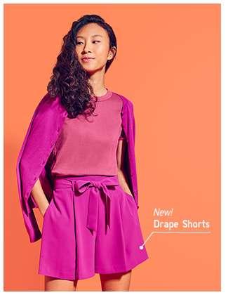 Women's Drape Shorts