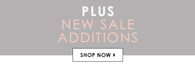 Plus New Sale Additions