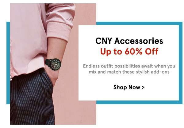CNY Accessories Up to 60% Off
