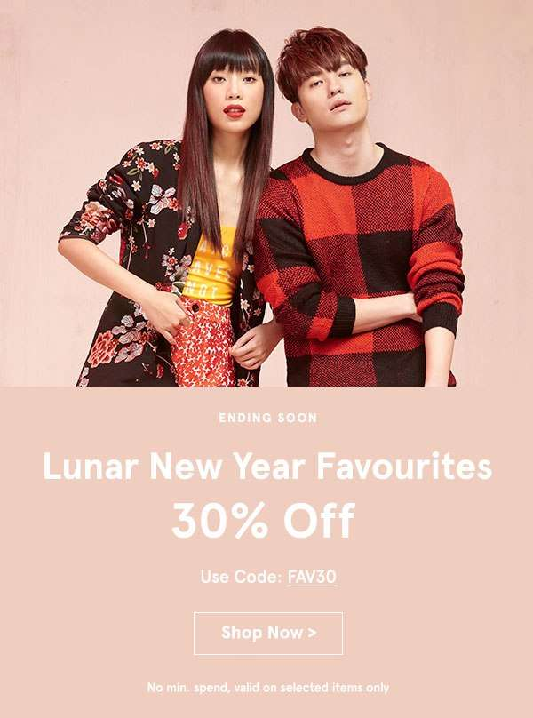Lunar New Year Favourites: 30% Off