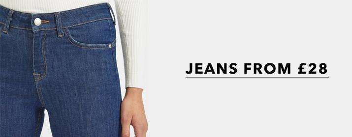 Jeans from £28