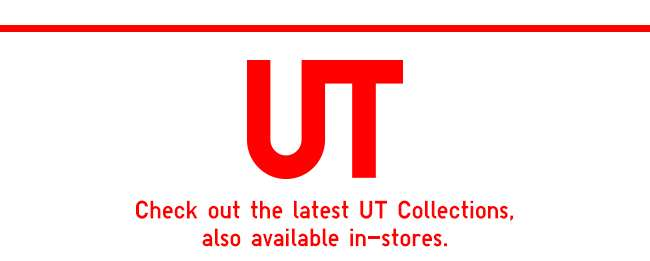 UT | Check out the latest collections also available in-stores.