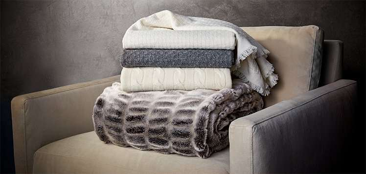 Lowest Prices of the Season: Cashmere Throws & More