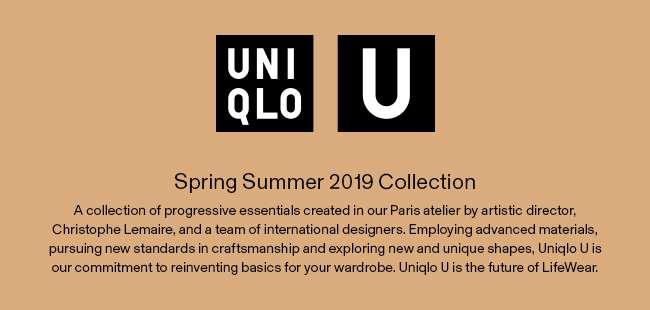 Uniqlo U 2019 Spring/Summer Collection