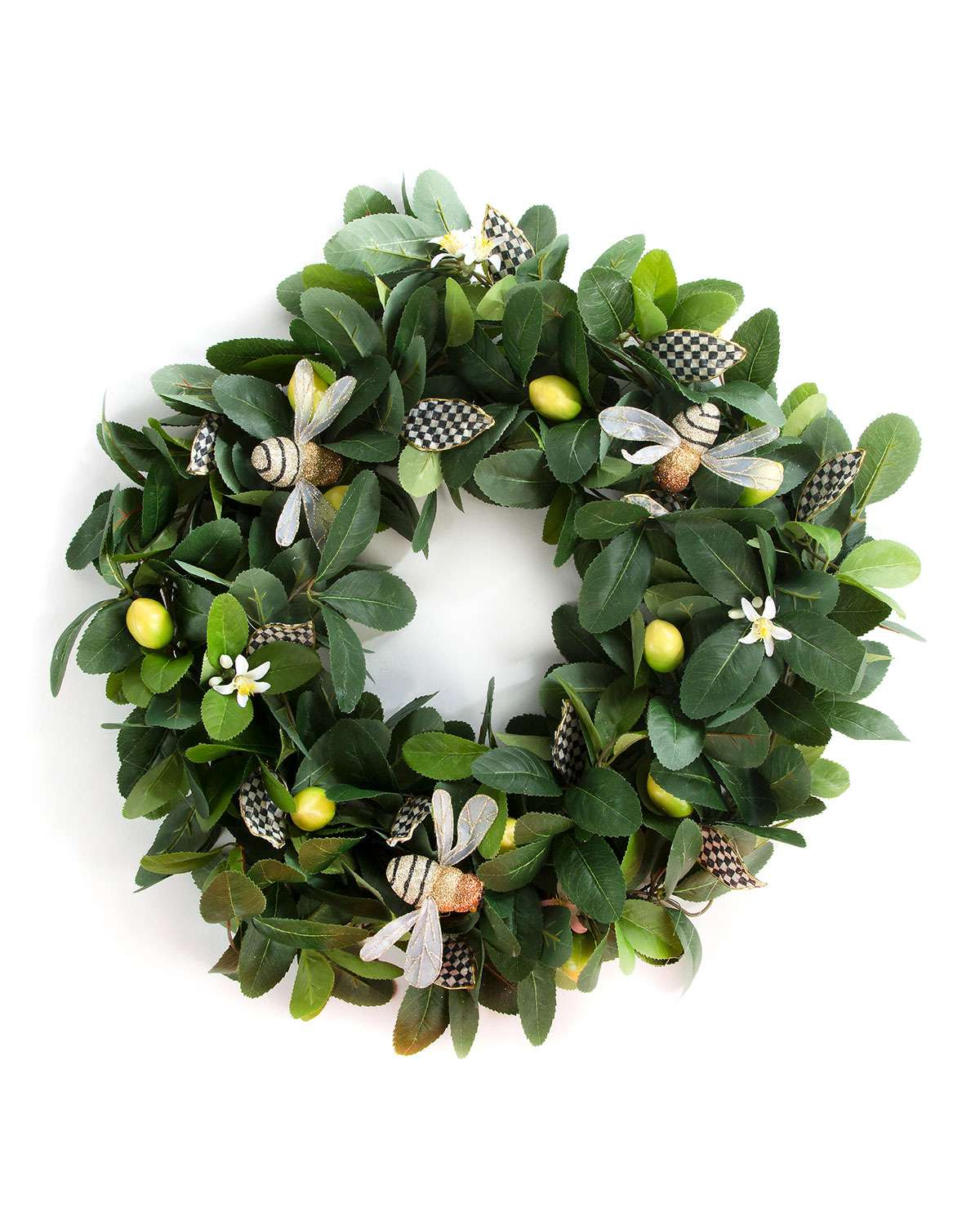 Queen Bee Lemon Wreath, 24