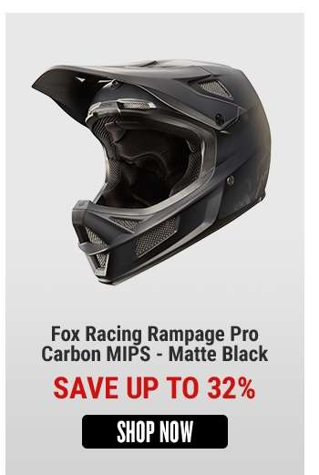 Fox Racing Rampage Pro Carbon MIPS - Matte Black