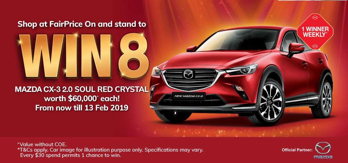 Win 8 Mazda CX-3