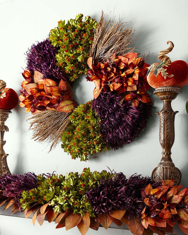 Fall Harvest Wreath, 28