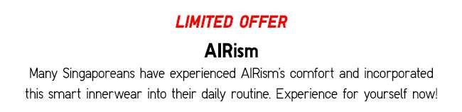 Limited Offer | AIRism – A smart innerwear that keeps you dry and comfortable all day long