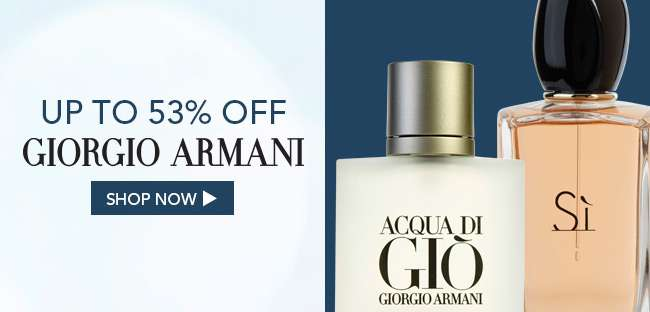 Shop Giorgio Armani sales collection. Up to 53% off