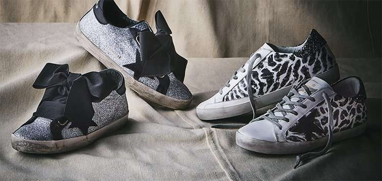 Women's Sneaker Drop With Golden Goose