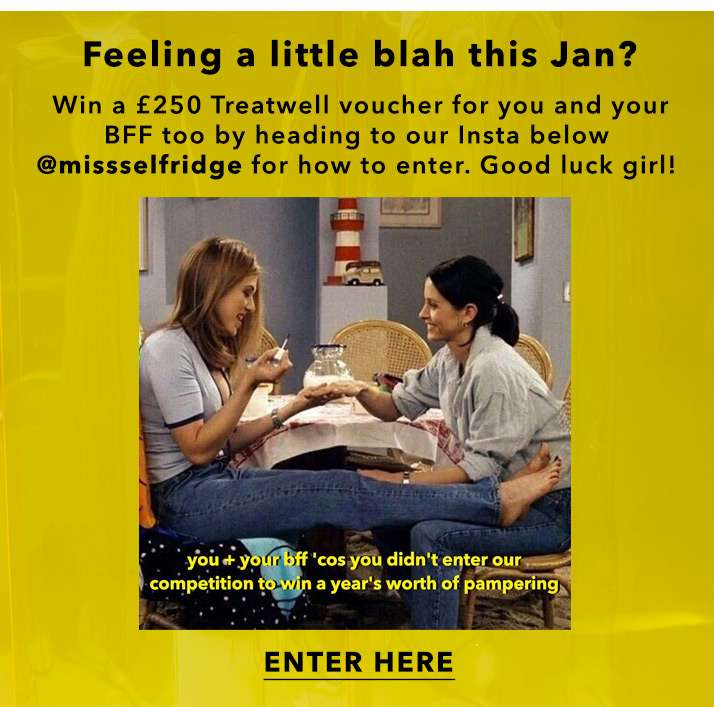 Enter now on our insta post