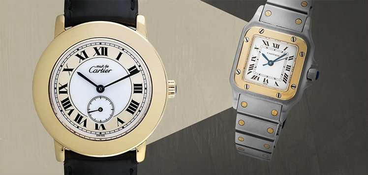 Vintage Cartier & More Men's Heirlooms