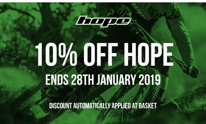 10% Off Hope - Ends 28th January 2019