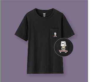WOMEN's Peanuts Graphic Short Sleeve T-Shirt at $14.90