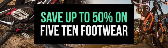 Save up to 50% on Five Ten Footwear