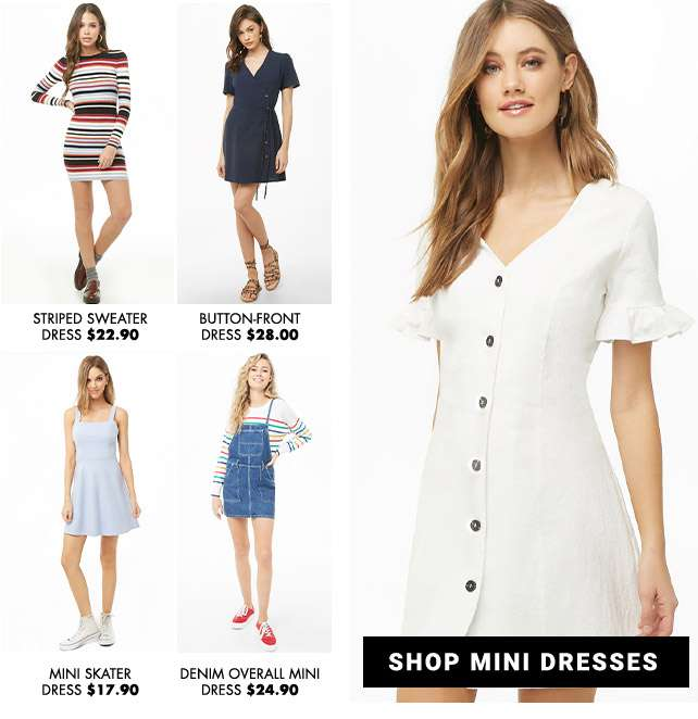 Shop Mini Dresses