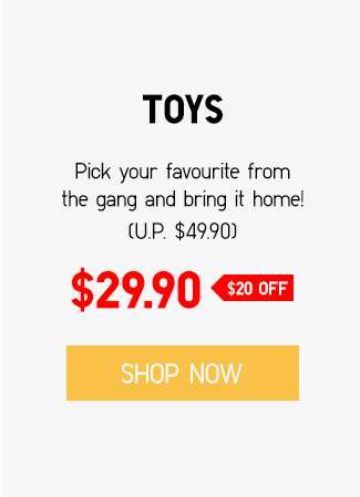 Shop KAWS x Sesame Street Toys