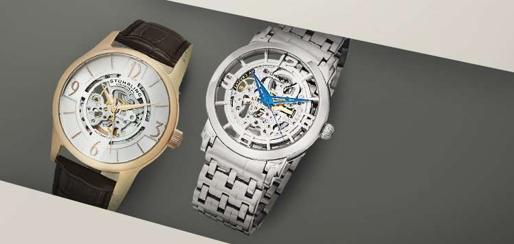 Men's Skeleton Watches