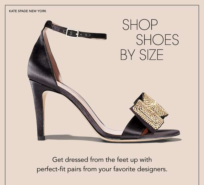 shop shoes by size
