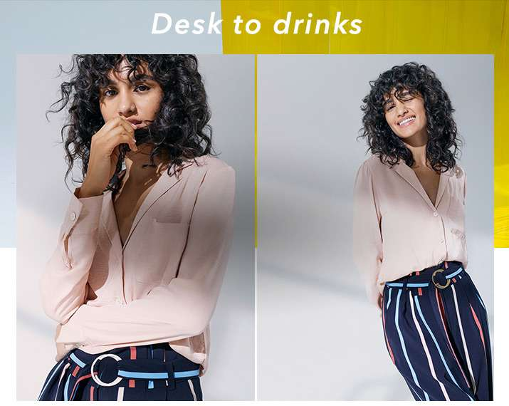 Desk to drinks