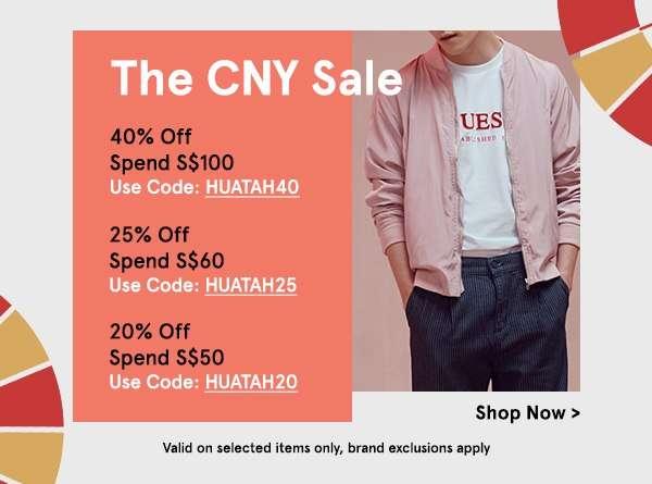 The CNY Sale!