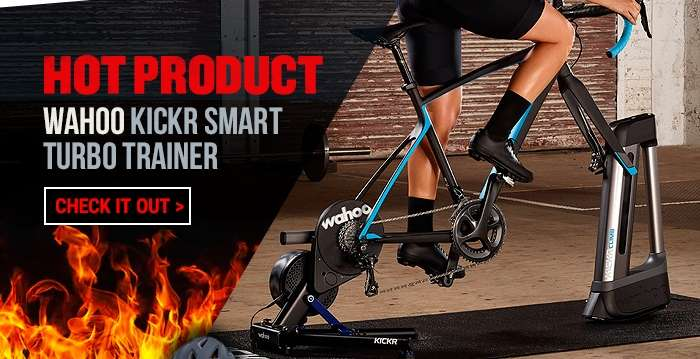 Hot product: Wahoo Kickr Smart turbo trainer