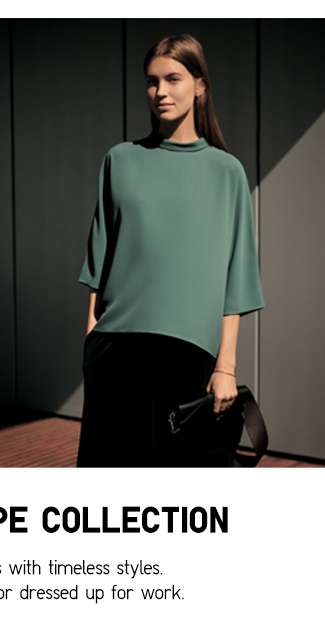 Women's Drape 3/4 Sleeve Blouse