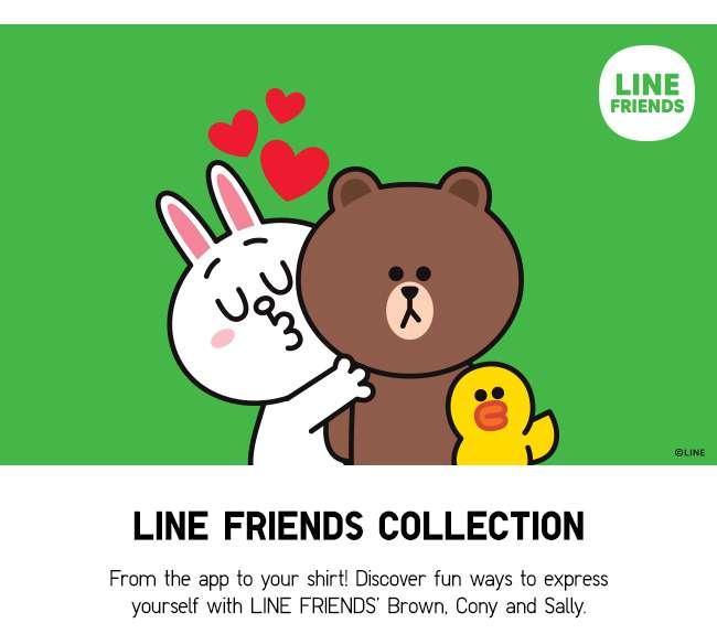 Shop Line Friends Collection