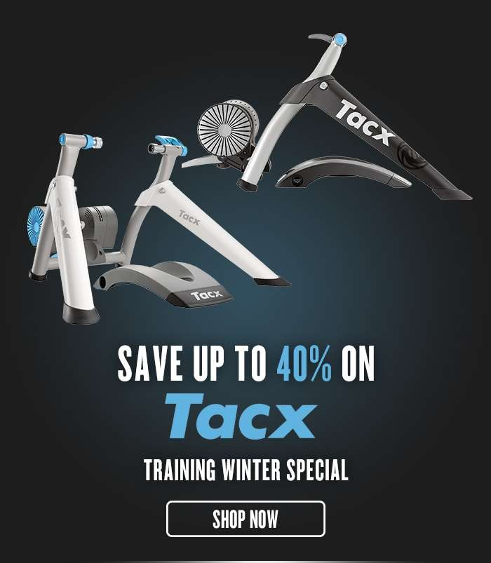 Save up to 40% on Tacx Training Special