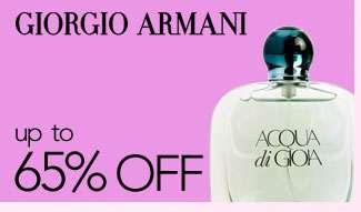 Giorgio Armani. Up to 65% off. Shop now