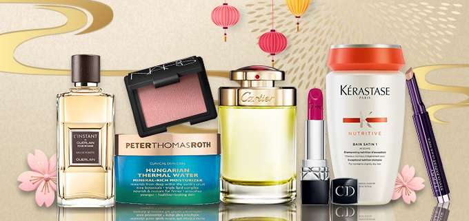 Lunar New Year Sale Up to 79% Off! Chantecaille, Dior, Shiseido, YSL & more! Ends 10 Feb 2019