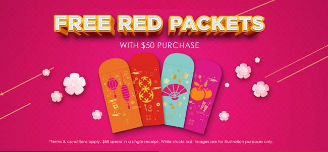 Free Angbao over $50 spend