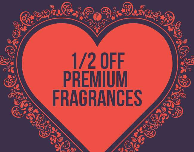 1/2 Off Premium Fragrances