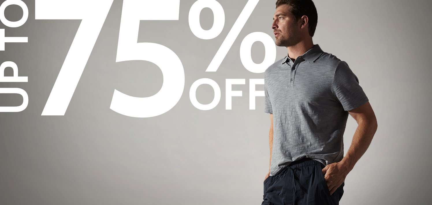 New Markdowns for Men