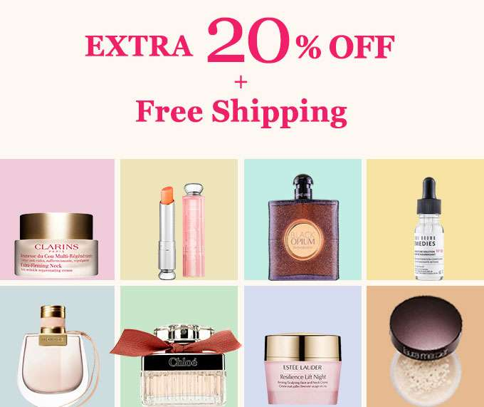 Get Extra 20% Off + Free Int'l Shipping! Offer Ends 3 Feb 2019