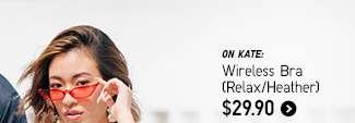 Women's Wirelress Bra (Relax/Heather) at $29.90