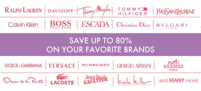 Save up to 80% on your favorite brands
