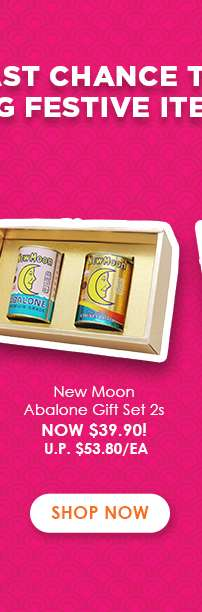 New Moon Abalone Gift Set 2s