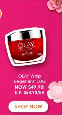 Olay Whips Regenerist 50G