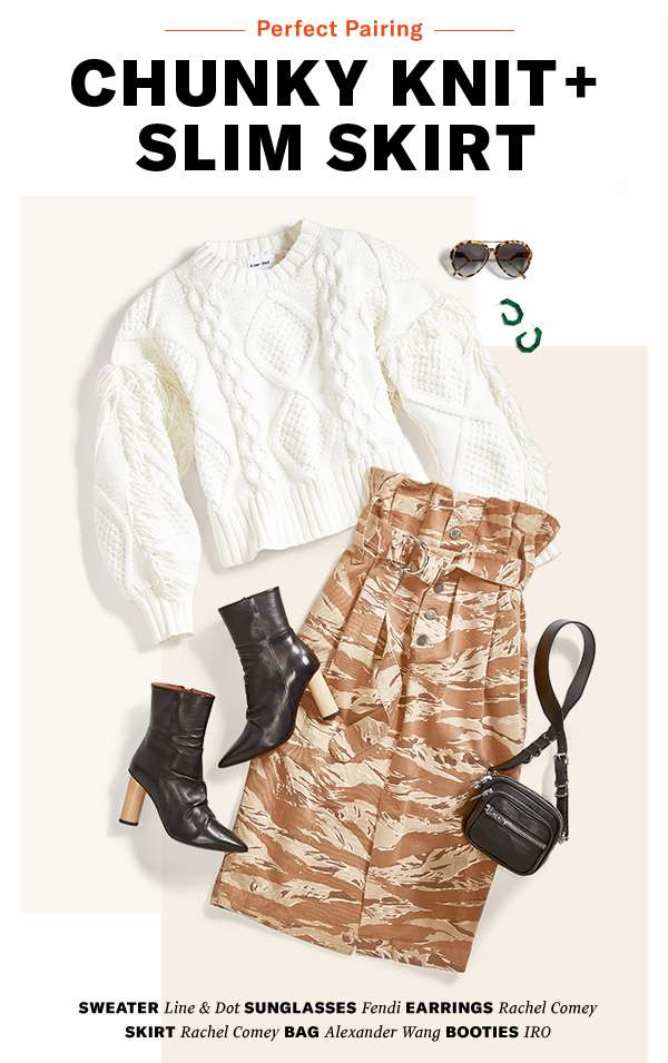 Cozy, sexy, cool—it's your new favorite winter combo.