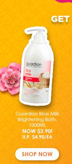 Guardian Rice Milk Brightening Bath, 1000ML
